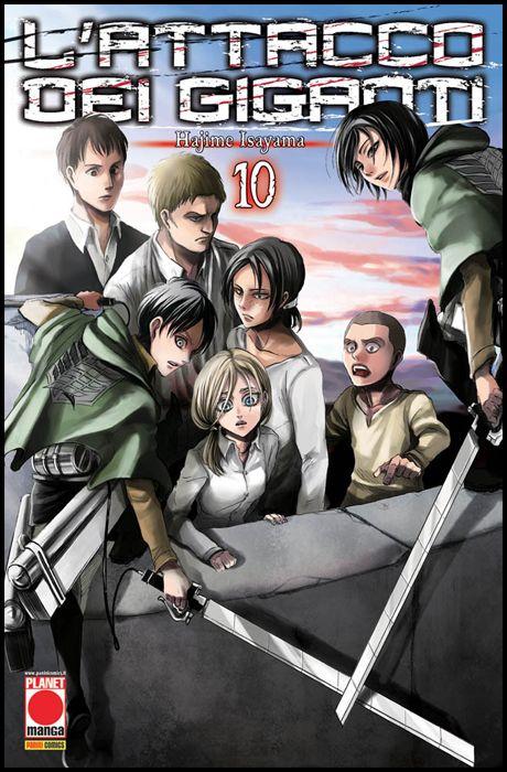 GENERATION MANGA #    10 - L'ATTACCO DEI GIGANTI 10 - 3A RISTAMPA