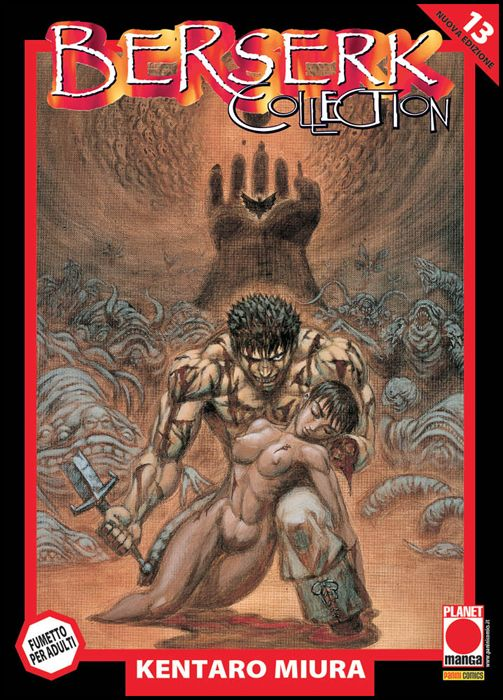 BERSERK COLLECTION #    13 SERIE NERA - 4A RISTAMPA