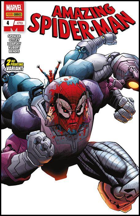 UOMO RAGNO #   713 - AMAZING SPIDER-MAN 4 - 1A RISTAMPA - VARIANT COVER