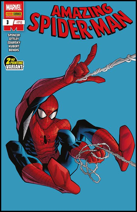 UOMO RAGNO #   712 - AMAZING SPIDER-MAN 3 - 1A RISTAMPA - VARIANT COVER