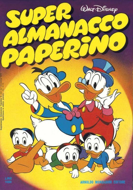SUPER ALMANACCO PAPERINO 1/17  1a serie completa
