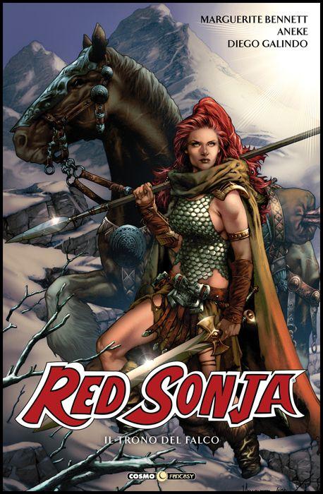 COSMO FANTASY #    40 - RED SONJA 4: IL TRONO DEL FALCO