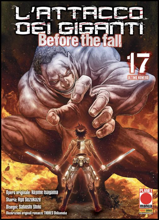 MANGA SHOCK #    23 - L'ATTACCO DEI GIGANTI - BEFORE THE FALL 17