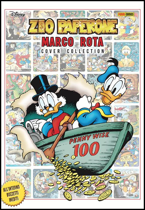 DISNEY SPECIAL EVENTS #    13 - ZIO PAPERONE MARCO ROTA COVER COLLECTION
