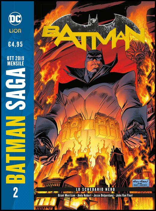 BATMAN SAGA #     2 - BATMAN - GRANT MORRISON 2: LO SCHEDARIO NERO