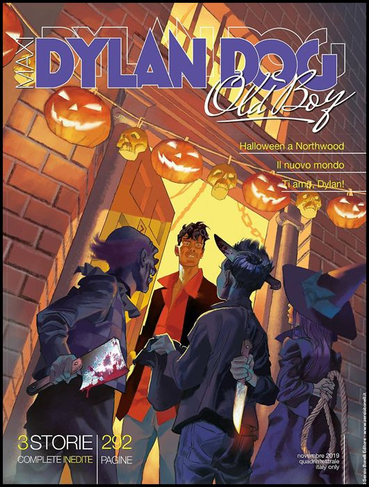 DYLAN DOG MAXI #    37 - OLD BOY 16: HALLOWEEN A NORTHWOOD E ALTRE STORIE