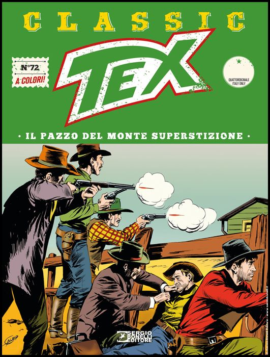 TEX CLASSIC #    72: IL PAZZO DEL MONTE SUPERSTIZIONE