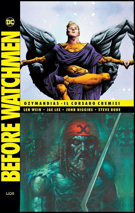 DC DELUXE - BEFORE WATCHMEN #     4: OZYMANDIAS / IL CORSARO CREMISI - 1A RISTAMPA VARIANT COVER