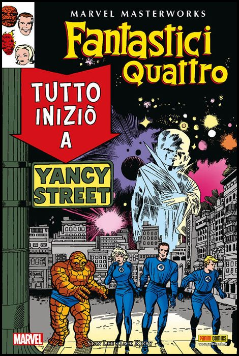 MARVEL MASTERWORKS - FANTASTICI QUATTRO #     3 - 1A RISTAMPA