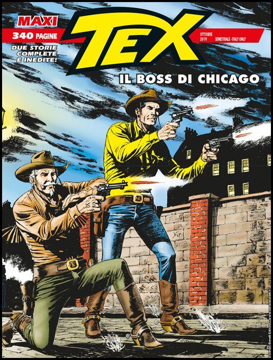 TEX MAXI #    25: IL BOSS DI CHICAGO