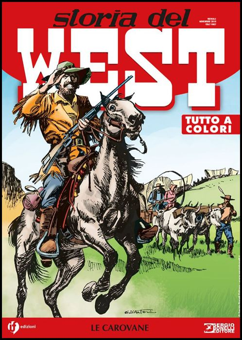 COLLANA WEST #     8 - STORIA DEL WEST 8: LE CAROVANE
