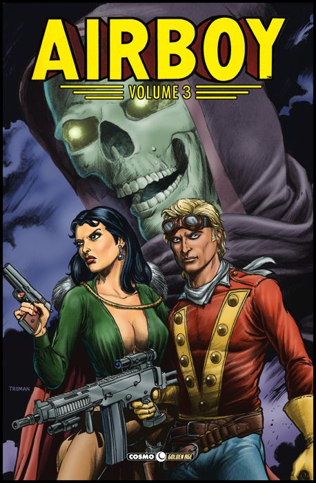 COSMO GOLDEN AGE #    22 - AIRBOY 3