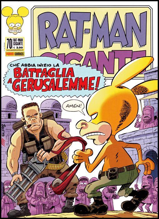 RAT-MAN GIGANTE #    70: BATTAGLIA A GERUSALEMME!