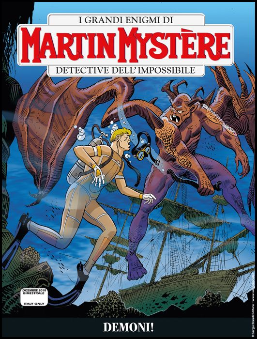 MARTIN MYSTERE #   366: DEMONI!