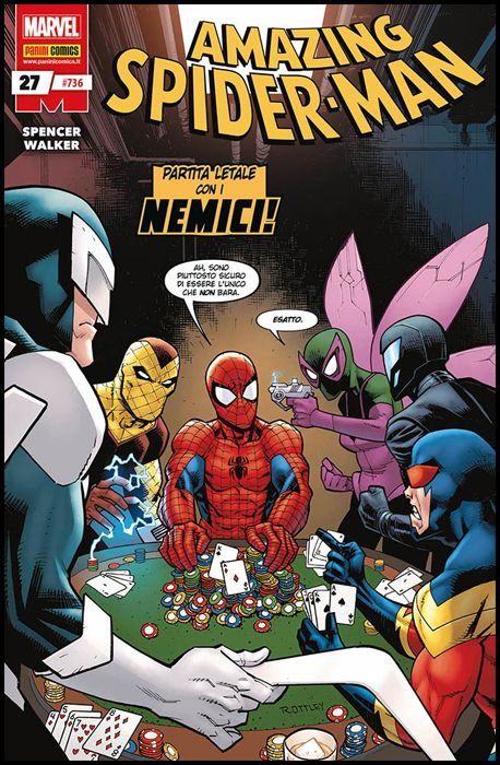UOMO RAGNO #   736 - AMAZING SPIDER-MAN 27