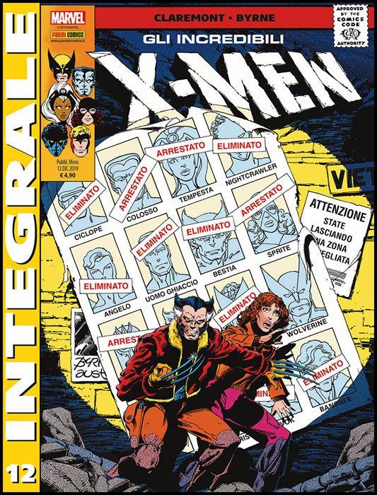 MARVEL INTEGRALE - X-MEN #    12
