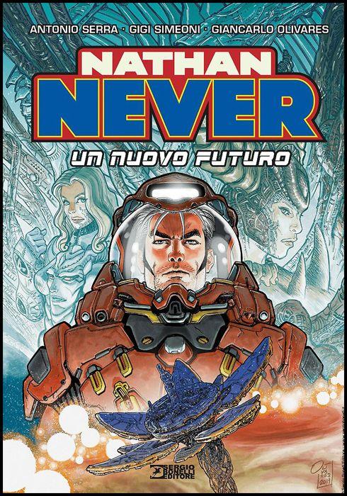 NATHAN NEVER: UN NUOVO FUTURO - CARTONATO