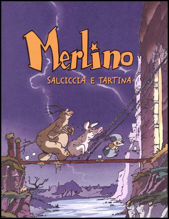 MERLINO #     1: SALCICCIA E TARTINA