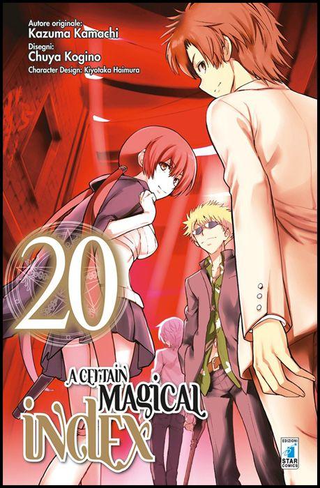 MITICO #   267 - A CERTAIN MAGICAL INDEX 20