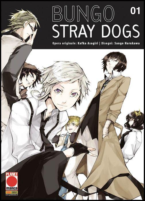 MANGA RUN #     1 - BUNGO STRAY DOGS 1 - 1A RISTAMPA
