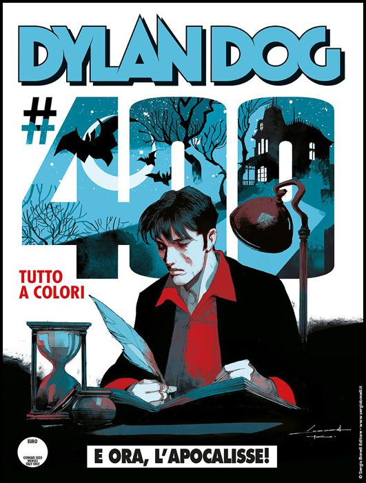 DYLAN DOG ORIGINALE #   400: E ORA, L'APOCALISSE! - CORRADO ROI - A COLORI