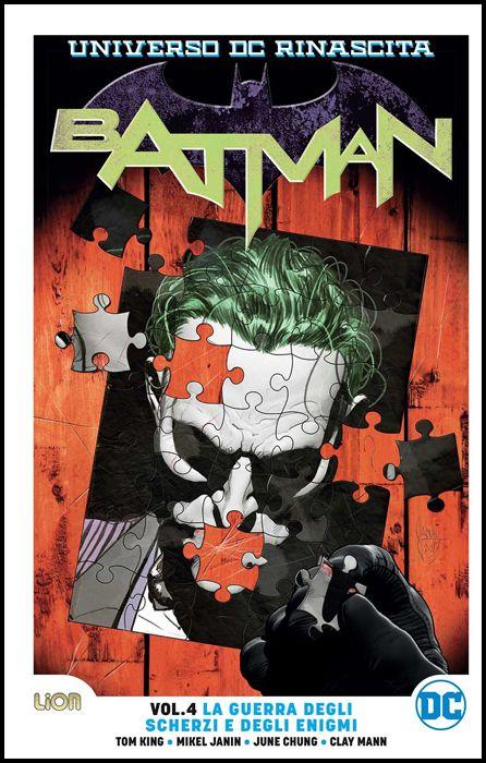 RINASCITA ULTRALIMITED - BATMAN #     4: LA GUERRA DEGLI SCHERZI E DEGLI ENIGMI