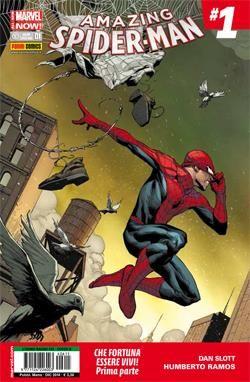 UOMO RAGNO 615/624 AMAZING SPIDER-MAN 1/10 - ALL-NEW MARVEL NOW!