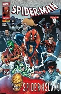 UOMO RAGNO 576/581 - SPIDER-MAN - SPIDER-ISLAND 1/6 completa- COVER LA PULCE