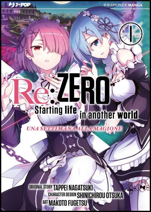 RE:ZERO STAGIONE 2 - UNA SETTIMANA ALLA MAGIONE #     1
