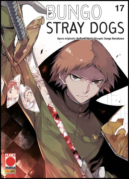 MANGA RUN #    17 - BUNGO STRAY DOGS 17