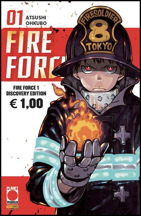 MANGA LAND #    28 - FIRE FORCE 1 - DISCOVERY EDITION