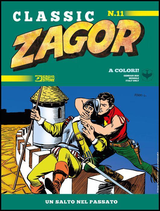 ZAGOR CLASSIC #    11: UN SALTO NEL PASSATO
