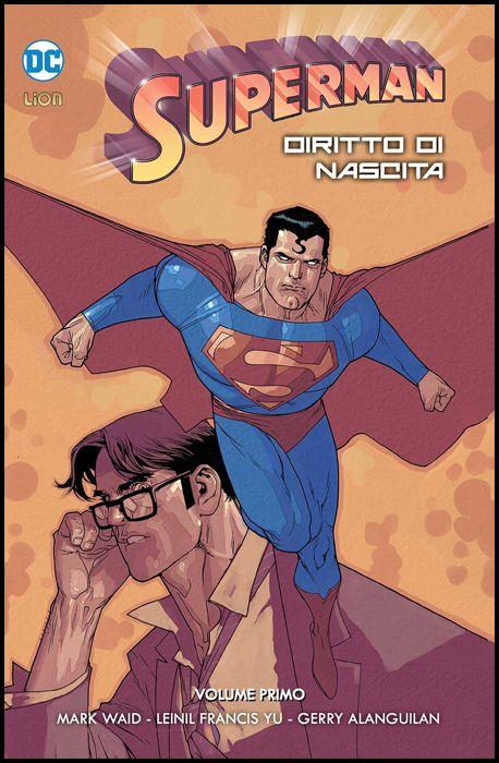 GRANDI OPERE DC - SUPERMAN: DIRITTO DI NASCITA #     1