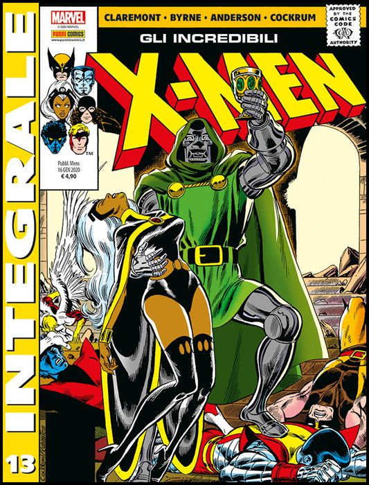 MARVEL INTEGRALE - X-MEN #    13