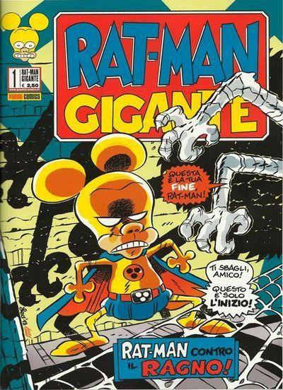 RAT-MAN GIGANTE 1/28  NUOVI  ESAURITO N 1-2-3 N 25 CON ADESIVI