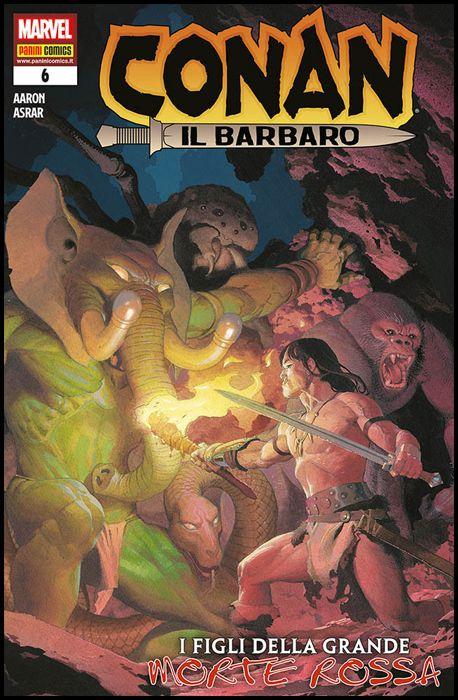 CONAN IL BARBARO #     6