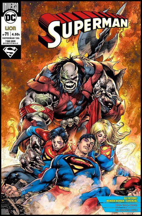 SUPERMAN #   186 - SUPERMAN 71