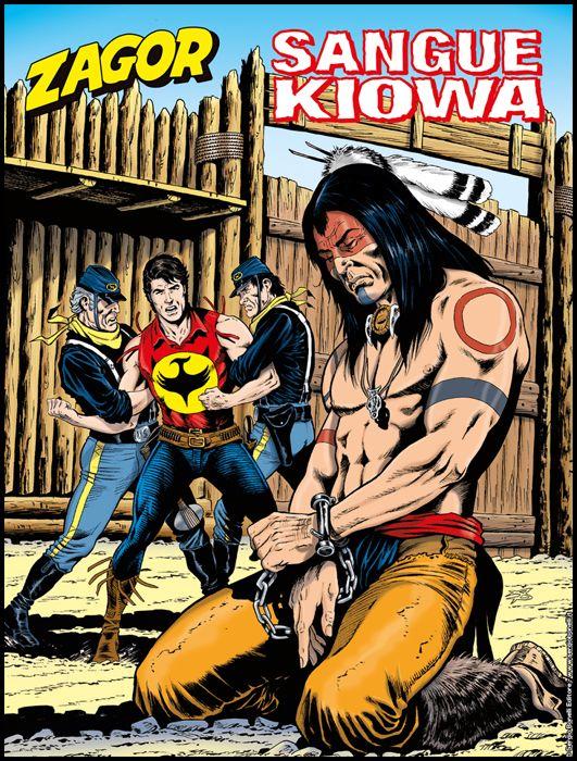 ZENITH #   705 - ZAGOR 654: SANGUE KIOWA