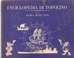 ENCICLOPEDIA DI TOPOLINO VOL IX: STORIA DELLE NAVI  ALBUM FIGURINE COMPLETO