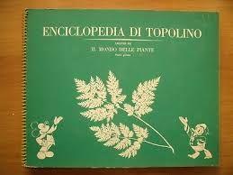 ENCICLOPEDIA DI TOPOLINO VOL III: IL MONDO DELLE PIANTE PARTE 1A  ALBUM FIGURINE COMPLETO