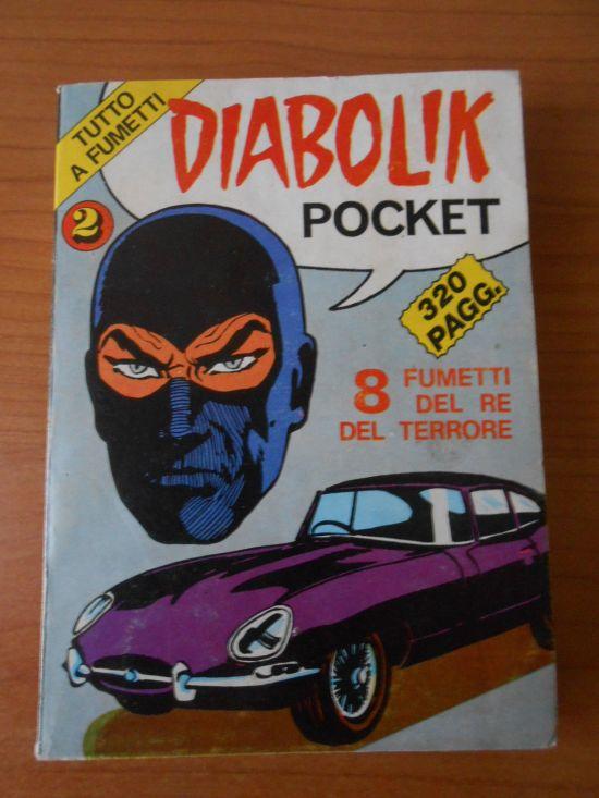 DIABOLIK POCKET #   2 SUPPLEMENTO A L N 11 DI HORROR POCKET