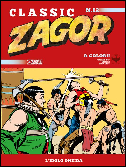 ZAGOR CLASSIC #    12: L'IDOLO ONEIDA
