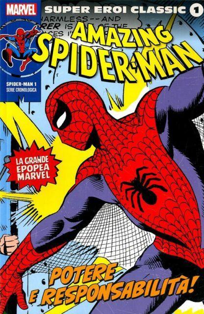 MARVEL - SUPER EROI CLASSIC - SPIDER-MAN 1/3