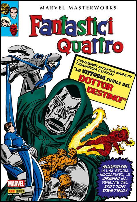 MARVEL MASTERWORKS - FANTASTICI QUATTRO #     4 - 1A RISTAMPA