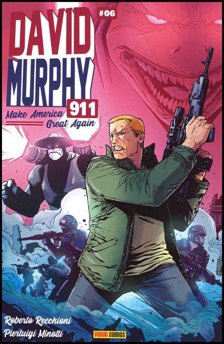 DAVID MURPHY 911 - SEASON TWO #     6 - COVER B