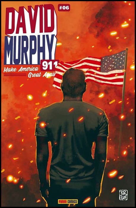 DAVID MURPHY 911 - SEASON TWO #     6 - VARIANT METAL FX