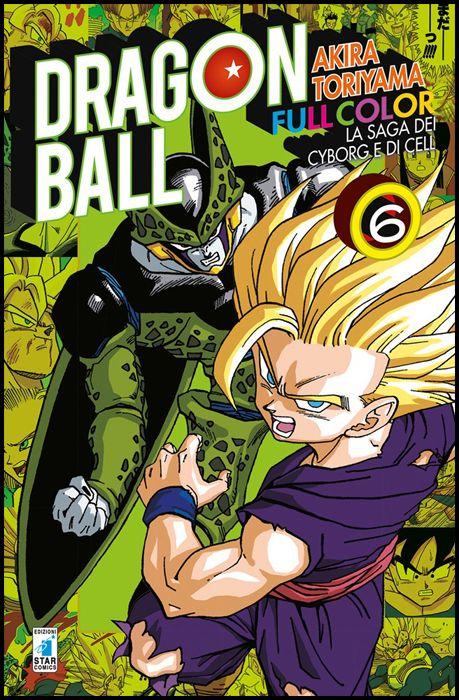 DRAGON BALL FULL COLOR #    26 - LA SAGA DEI CYBORG E DI CELL 6 ( DI 6 )