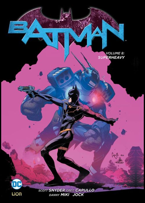 DC LIBRARY - DC NEW 52 LIMITED - BATMAN #     8: SUPERHEAVY