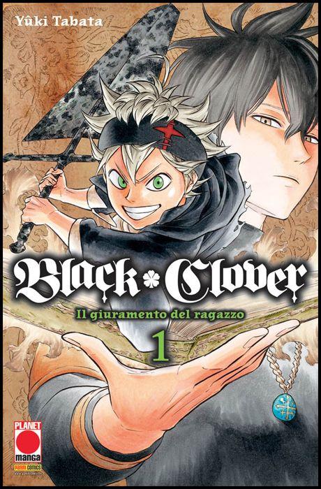 PURPLE #    14 - BLACK CLOVER 1 - 1A RISTAMPA