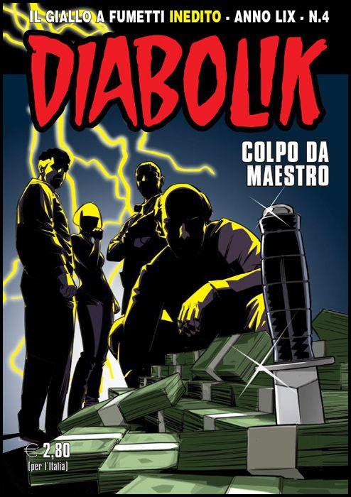 DIABOLIK ORIGINALE ANNO 59 #     4: COLPO DA MAESTRO